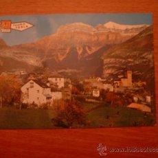 Postales: POSTAL TORLA - HUESCA VISTA PARCIAL SIN CIRCULAR. Lote 35997543