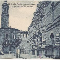 Postkarten - ZARAGOZA.- UNIVERSIDAD E IGLESIA DE LA MAGDALENA. - 134439173