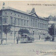 Postales: ZARAGOZA.- CAPITANÍA GENERAL.. Lote 36065719