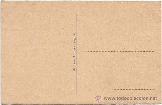 Postales: ZARAGOZA.- PUERTA DEL CARMEN. - Foto 2 - 36065841