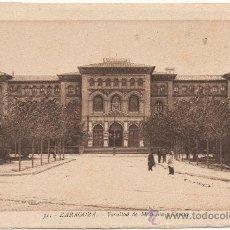 Postales: ZARAGOZA.- FACULTAD DE MEDICINA Y CIENCIA.. Lote 36066139