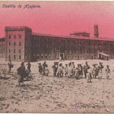 Postales: ZARAGOZA.- CASTILLO DE ALJAFERÍA.. Lote 36067236