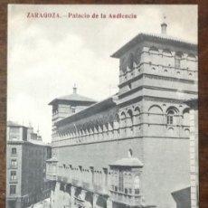 Postales: ZARAGOZA. PALACIO DE LA AUDIENCIA. (MADRIGUERA) . Lote 36089812