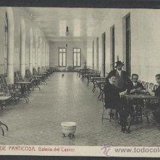 Postales: PANTICOSA - BALNEARIO GALERIA DEL CASINO - THOMAS - (13.592). Lote 36128323