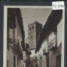 Postales: MORA DE RUBIELOS - CALLE DE LAS PARRAS - FOTOGRAFICA - (13.594). Lote 36128428
