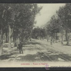 Postales: ZARAGOZA - PASEO DE SAGASTA - (13.610). Lote 36129091