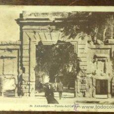 Postales: ZARAGOZA. PUERTA DEL CARMEN. . Lote 36127017