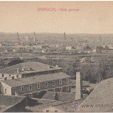 Postales: ZARAGOZA.- VISTA GENERAL.. Lote 36129226