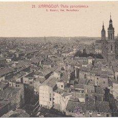 Postales: ZARAGOZA.- VISTA PANORÁMICA.. Lote 36129722