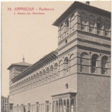 Postcards - ZARAGOZA.- AUDIENCIA. - 36130975