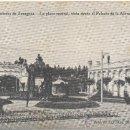 Postales: EXPOSICIÓN DE ZARAGOZA.- LA PLAZA CENTRAL, VISTA DESDE EL PALACIO DE LA ALIMENTACIÓN. (1.908).. Lote 36168927