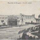 Postales: EXPOSICIÓN DE ZARAGOZA.- AVENIDA CENTRAL. (1.908).. Lote 36169083