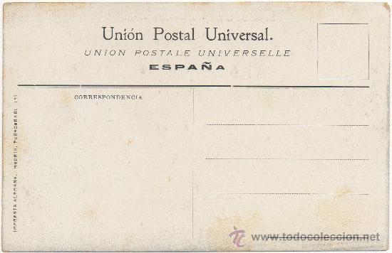 Postales: EXPOSICIÓN DE ZARAGOZA.- AVENIDA CENTRAL. (1.908). - Foto 2 - 36169083