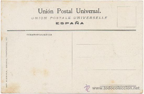 Postales: EXPOSICIÓN DE ZARAGOZA.- EDIFICIO DE ARTES É INDUSTRIAS. (1.908). - Foto 2 - 36169385
