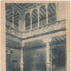 Postales: ZARAGOZA.- PATIO DE LA CASA DE LAS INFANTAS. (C.1900).. Lote 36184852
