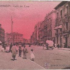 Postales: ZARAGOZA.- CALLE DEL COSO.. Lote 36184966