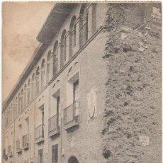Postales: ZARAGOZA.- CASA DE LA CALLE PALOMAR (BALAZOS DE LOS FRANCESES).. Lote 36227987