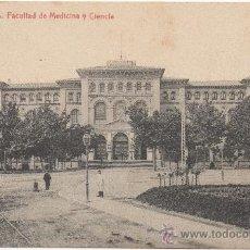 Postales: ZARAGOZA.- FACULTAD DE MEDICINA Y CIENCIA.. Lote 36446430