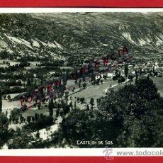 Postales: POSTAL CASTEJON DE SOS, HUESCA, VISTA PARCIAL, P75089. Lote 36446873