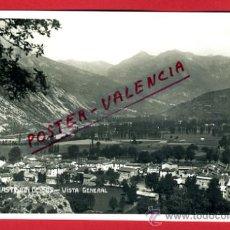 Postales: POSTAL CASTEJON DE SOS, HUESCA, VISTA GENERAL, P75095. Lote 36447027