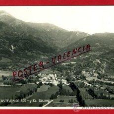 Postales: POSTAL CASTEJON DE SOS, HUESCA, EL SOLANO, P75096. Lote 36447069