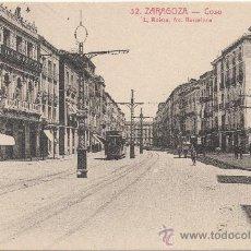 Postales: ZARAGOZA.- COSO.. Lote 36461663