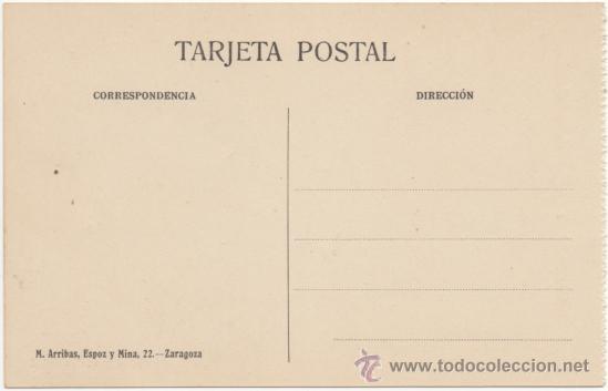 Postales: ZARAGOZA.- IGLESIA DE SANTA ENGRACIA. - Foto 2 - 36497301