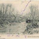 Postales: ZARAGOZA.- RÍO HUERVA. (C.1900).. Lote 36507949