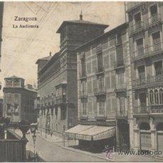 Postales: ZARAGOZA.- LA AUDIENCIA.. Lote 36566210