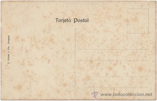 Postales: ZARAGOZA.- LA AUDIENCIA. - Foto 2 - 36566210