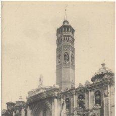Postales: ZARAGOZA.- IGLESIA Y TORRE DE SAN PABLO.. Lote 36619356