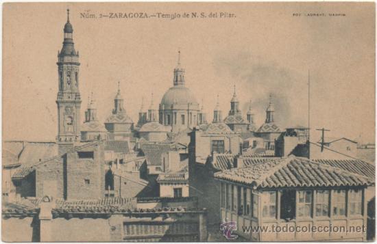 ZARAGOZA.- TEMPLO DE NUESTRA SEÑORA DEL PILAR. (C.1900). (Postales - España - Aragón Antigua (hasta 1939))