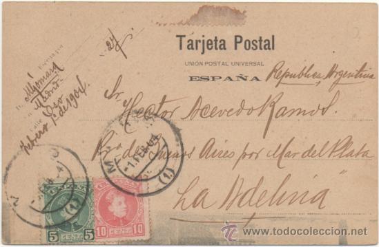 Postales: ZARAGOZA.- TEMPLO DE NUESTRA SEÑORA DEL PILAR. (C.1900). - Foto 2 - 36746550