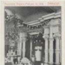Postales: ZARAGOZA.- EXPOSICIÓN HISPANO-FRANCESA DE 1908. INSTALACIÓN DE LA PAPELERA ESPAÑOLA.. Lote 36775789