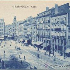 Postales: ZARAGOZA.- COSO.. Lote 36862847