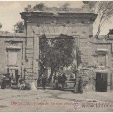 Postcards - ZARAGOZA.- PUERTA DEL CARMEN, CÉLEBRE POR SU HEROICA DEFENSA. - 36947878