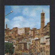 Postales: TARAZONA *CALLE CALVO SOTELO...* ED. SICILIA Nº 23. GOFRADA. CIRCULADA.. Lote 36988622