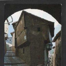 Postales: ALBARRACÍN *ARCO DEL PORTAL...* ED. SICILIA Nº 7. GOFRADA. NUEVA.. Lote 37011026