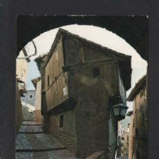 Postales: ALBARRACÍN *ARCO DEL PORTAL...* ED. SICILIA Nº 17. CIRCULADA.. Lote 37011632