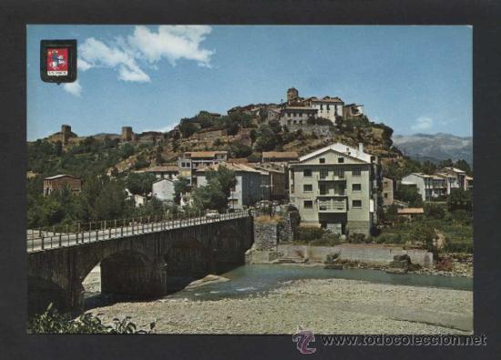 AINSA *VISTA PARCIAL...* ED. FISA Nº 3224. NUEVA. (Postales - España - Aragón Moderna (desde 1.940))