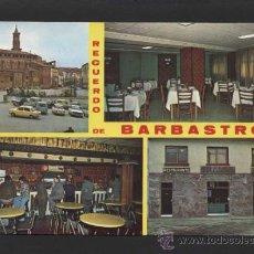 Postales: BARBASTRO *RESTAURANTE MATILDE...* ED. FOTO PEÑARROYA. NUEVA.. Lote 37349433