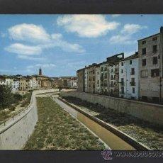 Postales: BARBASTRO *CANALIZACIÓN DEL RIO VERO...* ED. SICILIA Nº 9. CIRCULADA.. Lote 37349669