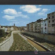 Postales: BARBASTRO *CANALIZACIÓN DEL RIO VERO...* ED. SICILIA Nº 9. NUEVA.. Lote 37349684