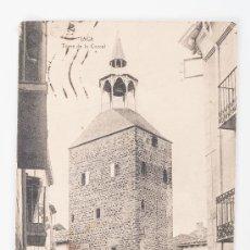 Postales: POSTAL EN BLANCO Y NEGRO DE JACA - TORRE DE LA CARCEL. Lote 37360611
