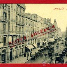 Postales: POSTAL ZARAGOZA, COSO, P77720. Lote 37549519