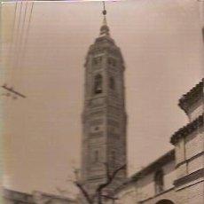 Postales: ANTIGUA POSTAL 7 CALATAYUD IGLESIA Y TORRE DE SAN ANDRES EDICIONES SICILIA. Lote 37649482