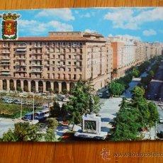 Postales: POSTAL DE ZARAGOZA, PLAZA SAN FRANCISCO. Lote 37662033