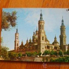 Postales: POSTAL ZARAGOZA BASILICA DEL PILAR, . Lote 37662100