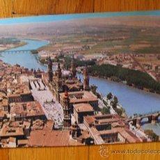 Postales: POSTAL DE ZARAGOZA, PILAR Y RIO EBRO. Lote 37662191