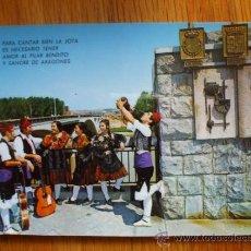 Postales: POSTAL DE ZARAGOZA, PUENTE SANTIAGO. Lote 37662476